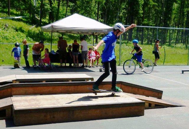 Cherryville Recreation Court - Cherryville, B C